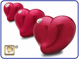 heart urn heart shaped urns