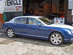 matte black bentley flying spur two tone wrapvehicles co uk manchester car wrapping company