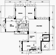 hdb floor plans compassvale arcadia 02 floor plan