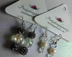 home made earrings earrings etsy