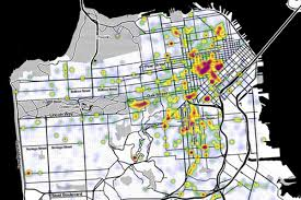 Trulia Map Mapping The Noisiest Neighborhoods Around San Francisco Curbed Sf