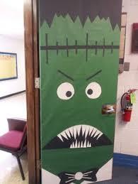 Frankenstein Door Decoration Frankenstein Door Decoration Halloween Pinterest