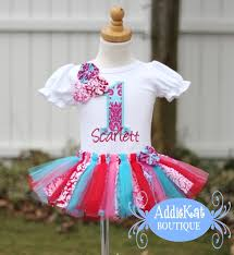 Shabby Chic Boutique Clothing by Personalized Shabby Chic Rosette Fabric Tutu Boutique Birthday