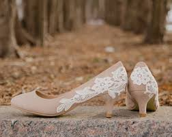 wedding shoes low heel pumps wedding shoes etsy