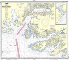 Valdez Alaska Map by Noaa Chart 16708 Prince William Sound Port Fidalgo And Valdez Arm