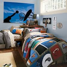 cool bedroom ideas for teenage guys small rooms blue chess pattern