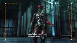 Metal Gear Rising Memes - steam community screenshot full of shit is now a meme