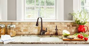 white kitchen cabinets with stainless steel backsplash what are the best backsplash materials for your kitchen