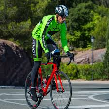 winter bicycle jacket ekoi comp10 connect green fluo thermal winter jacket