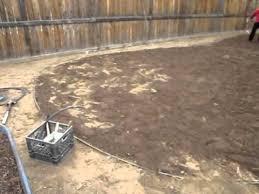 Renovate Backyard Back Yard Landscaping Remodel Landscaping A Back Yard Youtube