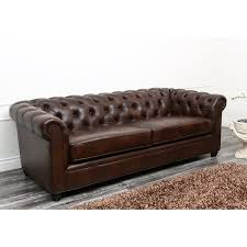 Discount Chesterfield Sofa Harlem Leather Chesterfield Sofa Reviews Birch
