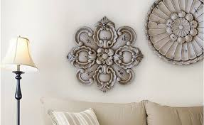 home decorating wall art wall decor decorating with ceiling medallions on wall medallion
