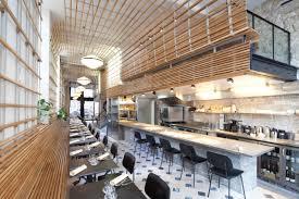 restaurant cuisine ouverte catégorie cafés restaurants finalistes 2014 shop design