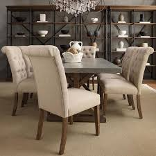 Leather Parson Dining Chairs Chairs Amusing Parson Dining Chair Leather Parsons In White