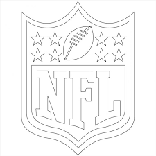 football player coloring page football player coloring pages nfl