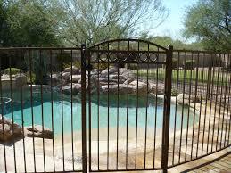 decorative wrought iron fence designs home gardens