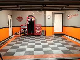 home interior decorating harley davidson bedroom decor interior garage designs garage ideas chess flooring home and