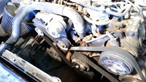 93 mustang engine fox ford mustang serpentine belt routing no smog with a