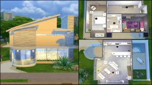 Modern Homes Floor Plans Home Design Modern House Floor Plans Sims 4 Transitional Compact
