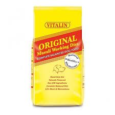 vitalin original muesli working diet dog food at burnhills