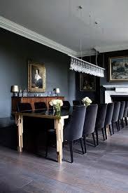 Designer Dining Rooms Best 25 Black Dining Rooms Ideas On Pinterest Dark Dining Rooms