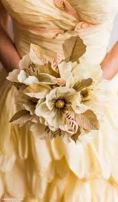 Fall Flowers For Wedding How To Make Crepe Paper Flowers For Wedding Bouquet Webwoud
