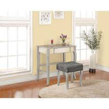 Linon Home Decor Vanity Set With Butterfly Bench Black Linon Home Decor Makeup Vanities Bedroom Furniture The Home