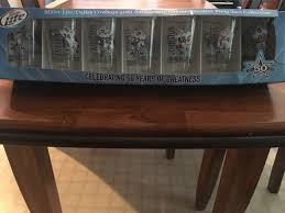 dallas cowboys miller lite 50th anniversary pint glass collection