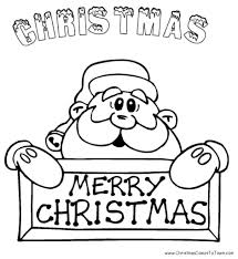 online christmas coloring pages learn to coloring within santa