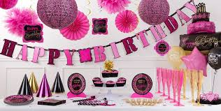 in party supplies damask birthday party supplies pink black party decorations