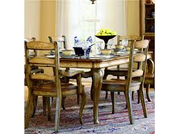 hooker furniture dining room vineyard rectangle dining table w 2