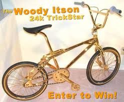 Hutch Bicycle March 2005 Gold Hutch Trickstar Raffled Off For A Good Cause