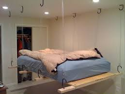 Beds That Hang From The Ceiling by Bunk Beds Hanging From Ceiling Home Design Ideas