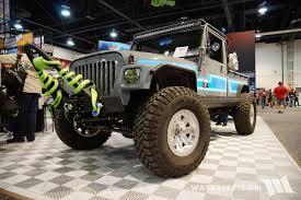 jeep forward control sema 2017 sema daystar cj10 honcho jk