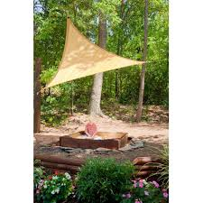 shadelogic sun shade sail square sand 12 u0027 x 12 u0027 shelterlogic