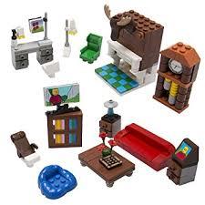 build a living room amazon com brick building living room set for your dream house