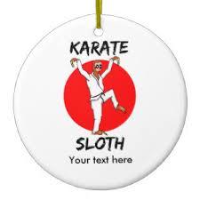 karate ornaments keepsake ornaments zazzle