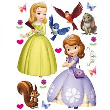 100 princess sofia wall stickers disney princess royal princess sofia wall stickers princess sofia giant stickers great kidsbedrooms the children