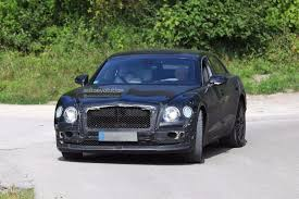 bentley flying spur 2017 blue 2019 bentley flying spur spied testing with a headless dummy as