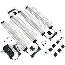z wave under cabinet lighting new eshine 4 panels led dimmable under cabinet lighting kit hand
