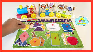 disney winnie pooh learn shapes color sound puzzle wooden
