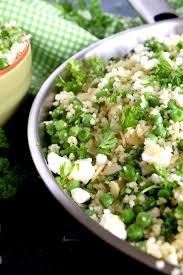 couscous green pea salad with almonds and feta lord byron u0027s kitchen