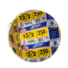 Southwire In Wall Digital 7 by Southwire 250 Ft 14 2 Solid Romex Simpull Cu Nm B W G Wire 2