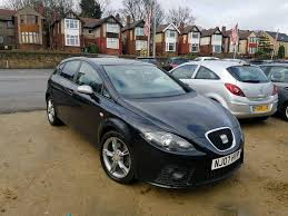 2007 seat leon 2 0 tdi fr manual black stage 2 remap long mot good