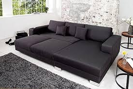 liegelandschaft sofa design ecksofa cosi mit schlaffunktion dunkelgrau