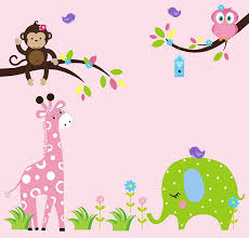 Wall Decals Kids Rooms by Baby Room Wall Stickers Monkey Wall Sticker Baby Room Decorations