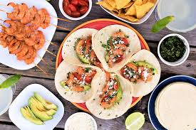 Backyard Tacos Grilled Tequila Shrimp Tacos Mountain Cravings