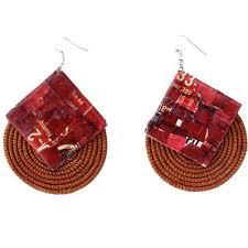 eco friendly earrings fashionable jewelry eco friendly earrings songa designs
