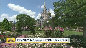 Botanical Gardens Ticket Prices Disney Increases Ticket Prices For Its Florida And California