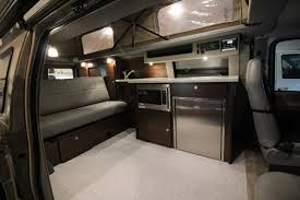 luxury minivan interior maxxvan 4x4 ford econoline van haus conversions